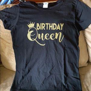 Tops - Birthday Queen tee